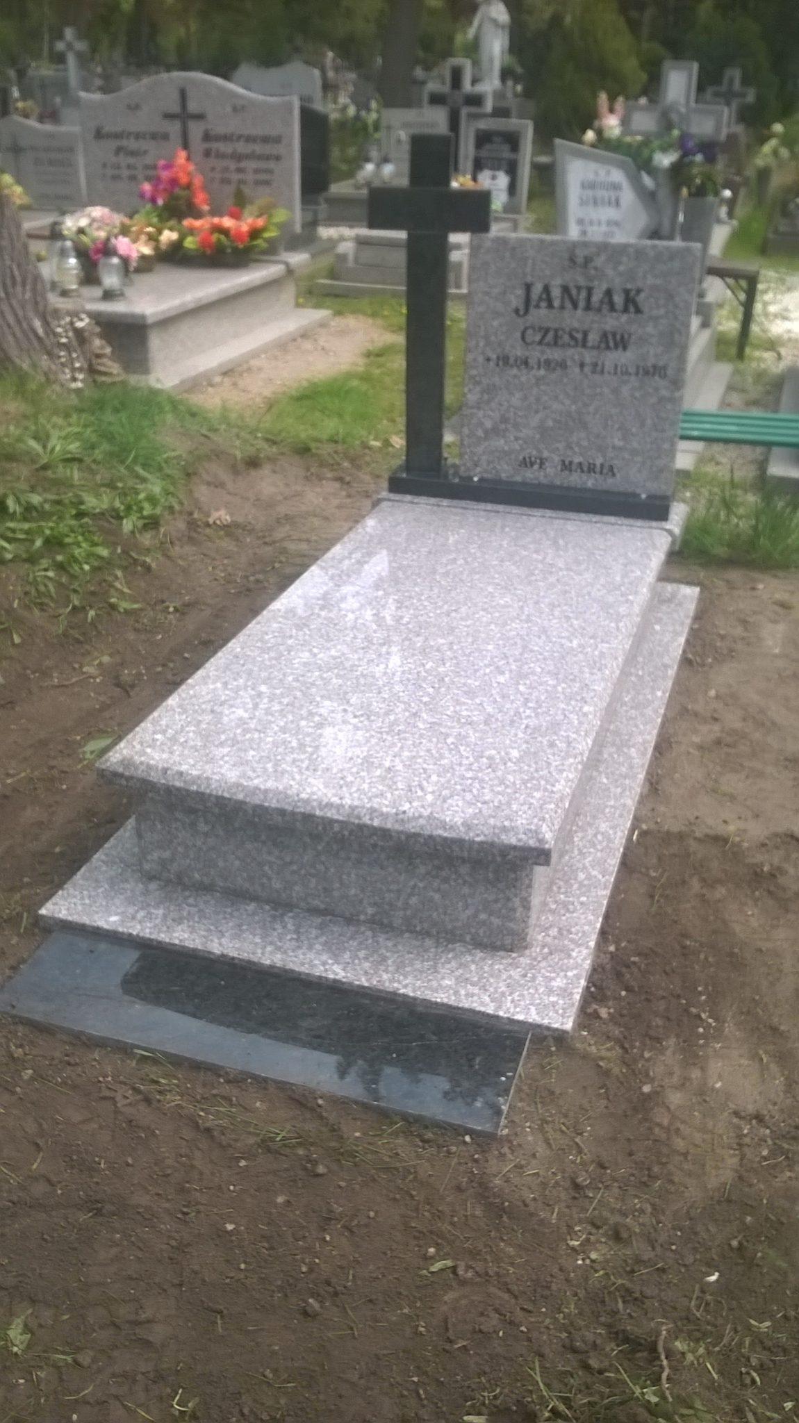 Wyroby granitowe Nagrobki Parapety Blaty Stoły Schody