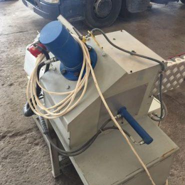 Łupiarka do pasów elewacyjnych, Recykling, Granit,