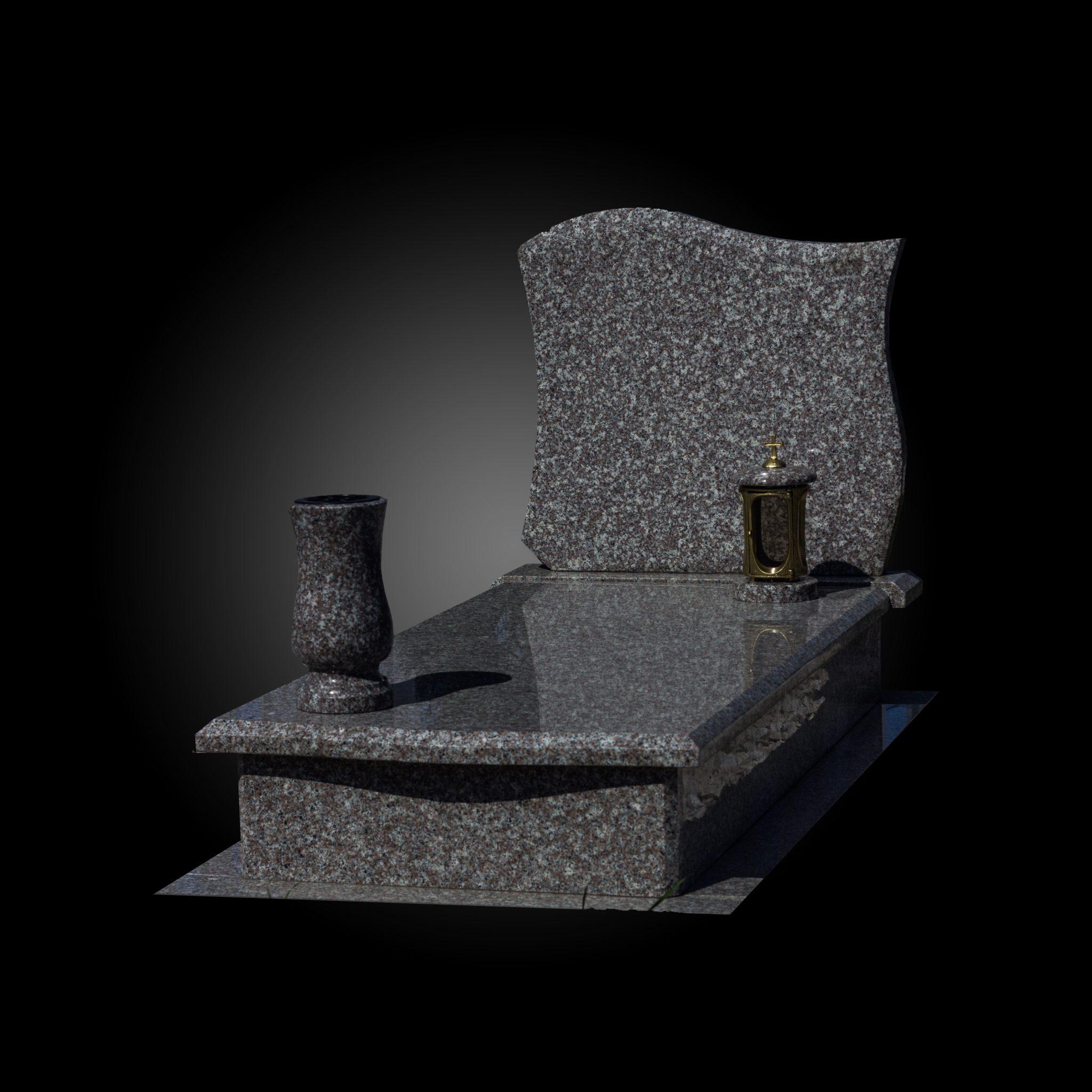 Nagrobek granitowy 180×80 Promocja 1900zł