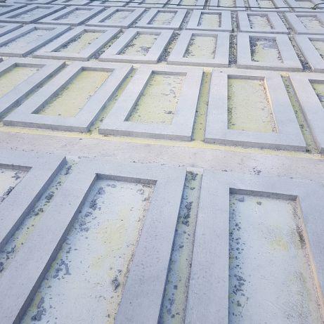 ramy betonowe podķlady
