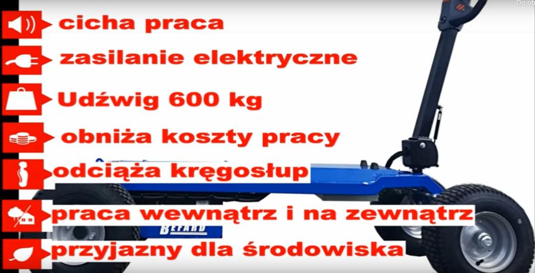 Wózek elektryczny BEFARD WAGON-jak przewozić bez wysiłku