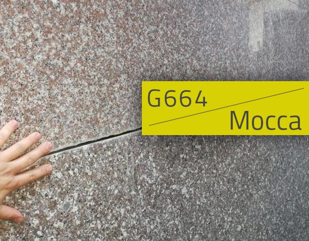 Nagrobki z brązu Mocca (G648)