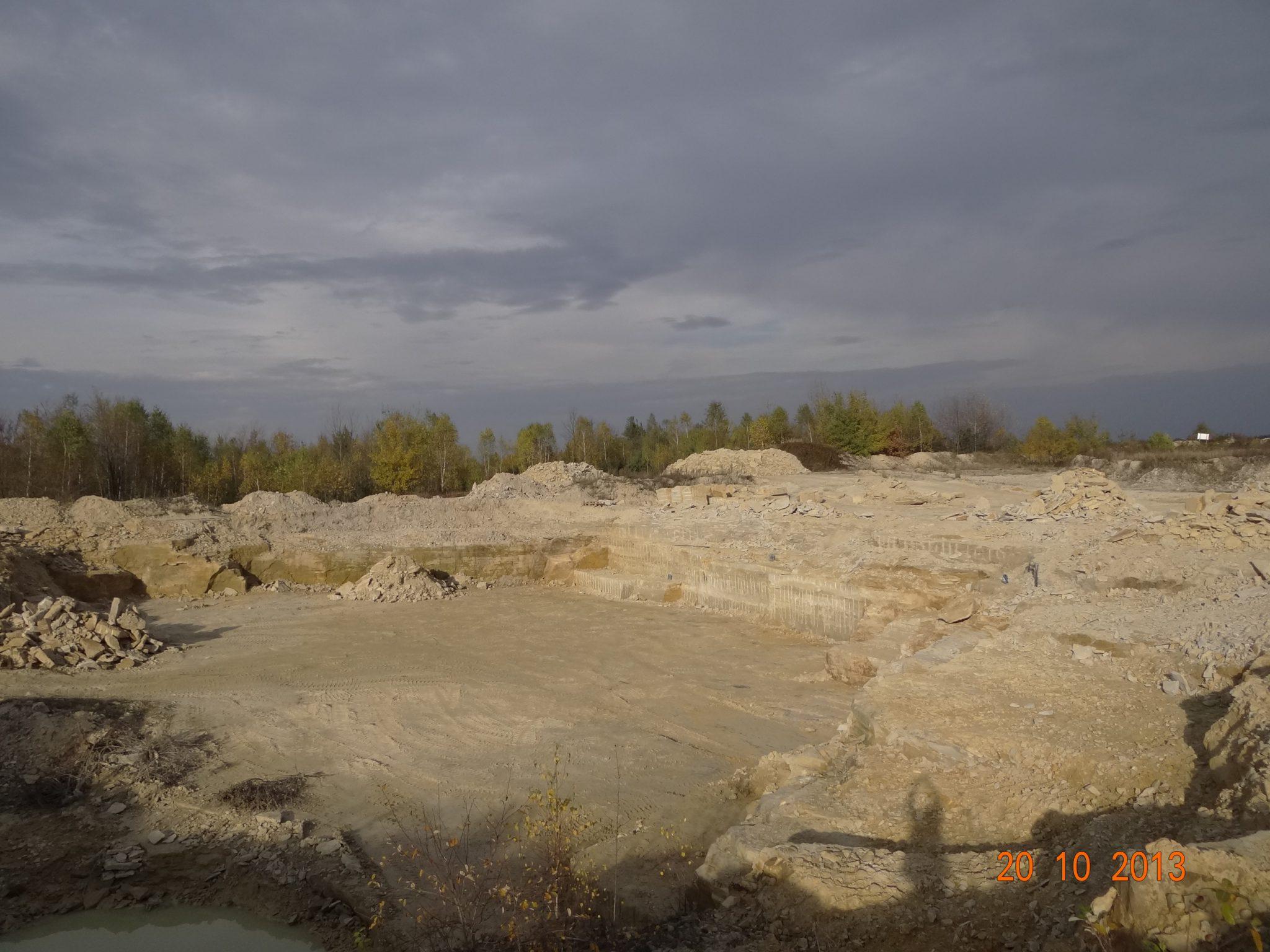 Kopalnia Kamienia, Złoże Piaskowca, Kamieniołom, Zakład Górniczy z koncesją na wydobycie