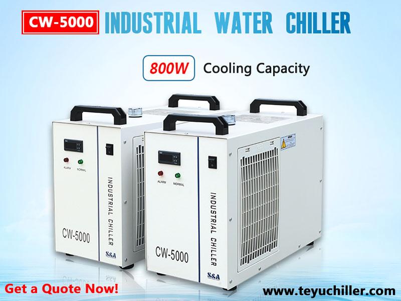Mały agregat wody lodowej CW5000