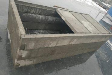 Piwnice, grobowce, wkłady betonowe